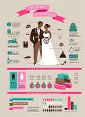 foto of moustache  - wedding vector set with graphic elements - JPG
