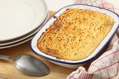 picture of mashed potatoes  - Homemade cottage pie - JPG