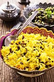 picture of barberry  - saffron rice with barberries - JPG