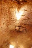 foto of pueblo  - Interior of Anasazi Pueblo circa1050  - JPG