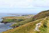 foto of galway  - View of the Atlantic Ocean from the Sky Road - JPG
