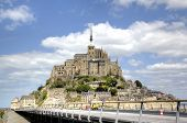 foto of michel  - Abbey of Mont Saint Michel - JPG