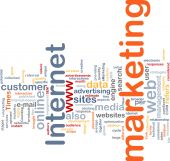Internet Marketing palabra nube