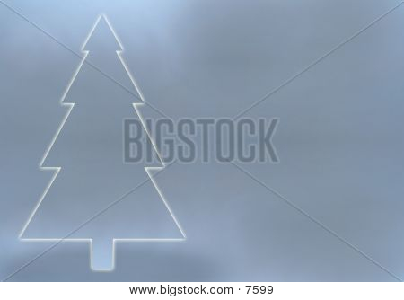 Aluminum Christmas poster