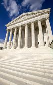 image of judiciary  - Supreme courthouse in Washington - JPG