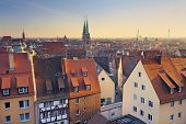 pic of neo-classic  - Image of historic downtown of Nuremberg - JPG