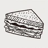 pic of sandwich  - Doodle Sandwich - JPG
