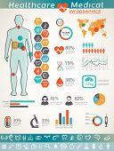 stock photo of human internal organ  - healthcare and medical infographics human body and organs - JPG