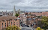 pic of church-of-england  - Cityscape of York a city in North Yorkshire England - JPG