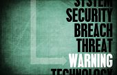 picture of taint  - Warning Computer Security Threat and Protection - JPG