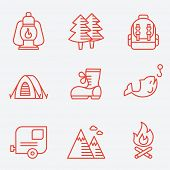 foto of boot camp  - Camping icons - JPG