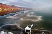pic of early morning  - Early morning on the Dead Sea resorts - JPG