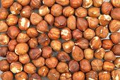 pic of cobnuts  - Colorful and crisp image of hazelnuts background - JPG