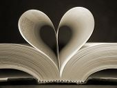 Heart Shaped Book poster