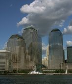 World Financial Centers Buildings poster
