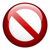picture of bans  - vector blank ban - JPG