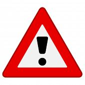 picture of warning-signs  - vector warning sign - JPG