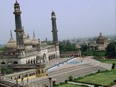 pic of imambara  - The grand Asafi masjid of lucknow viewed from the roof top of the Asafi Imambara in the same complex.