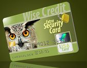 This Is A Secure Credit Card With All The Safety Security Featur poster