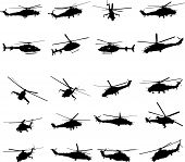 foto of attack helicopter  - Helicopter  - JPG