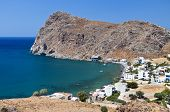 Lendas bay at Crete island in Greece