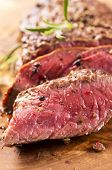 foto of ribeye steak  - beef steak - JPG