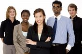 stock photo of ethnic group  - a diverse and multi - JPG
