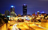 Skyline of downtown Knoxville, Tennessee, USA.