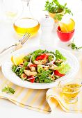 image of artichoke hearts  - Marinated Artichoke Hearts Salad - JPG