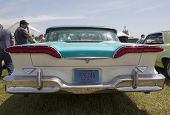 1958 Blue Edsel Citation Rear View