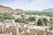 picture of oman  - Image of a view from Birkat al mud in Oman - JPG