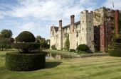 stock photo of hever  - An English medieval castle in a garden setting - JPG