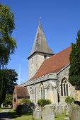 image of trinity  - Holy Trinity Church at Bosham in West Sussex - JPG
