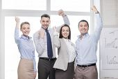 picture of office party  - business - JPG