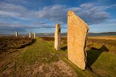 pic of megaliths  - The Ring of Brodgar - JPG