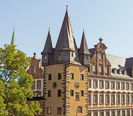 image of frankfurt am main  - History museum in the old town of Frankfurt am Main Germany - JPG