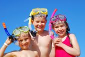 Children With Snorkels
