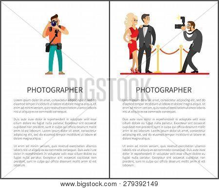 Paparazzi Taking Photo Of Celebrities