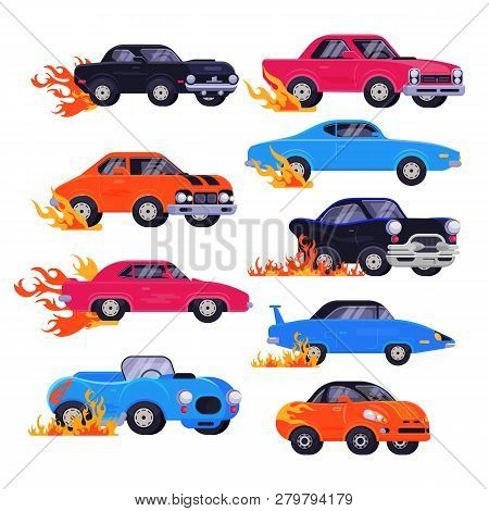 Muscle Car Vector Racing Speedcar
