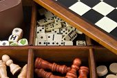 stock photo of wood pieces  - Games  - JPG