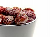 Black Bowl Of Dates