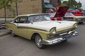 1957 Ford Fairlane 500 Side View