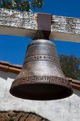 picture of old spanish trail  - Throughout California the California Mission Trail is adorned with Historic Bells Noting the Path - JPG