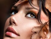 foto of makeover  - Autumn Woman Make up - JPG