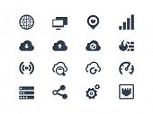 stock photo of no entry  - Network icons - JPG