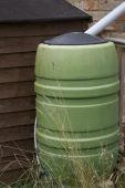 Rainwater Barrel poster