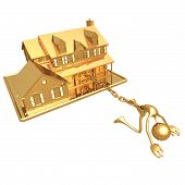 stock photo of slave-house  - Concept  - JPG
