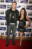 Kosmo and Melina Arroyo  at the Los Angeles Premiere of 'Mexican Gangster'. Million Dollar Theater,