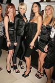 Jessica Sutta and Kimberly Wyatt with Nicole Scherzinger and Ashley Roberts   at the Launch of the P