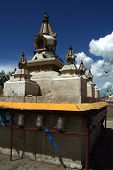 picture of ulaanbaatar  - Mongolian Buddhist Stupa in Ulaanbaatar - JPG